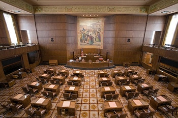 Oregon Senate Chambers